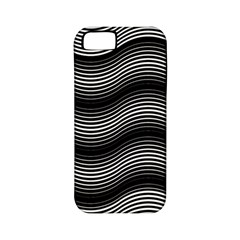 Two Layers Consisting Of Curves With Identical Inclination Patterns Apple iPhone 5 Classic Hardshell Case (PC+Silicone)