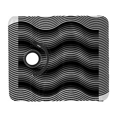 Two Layers Consisting Of Curves With Identical Inclination Patterns Galaxy S3 (Flip/Folio)