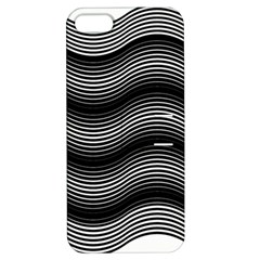 Two Layers Consisting Of Curves With Identical Inclination Patterns Apple iPhone 5 Hardshell Case with Stand