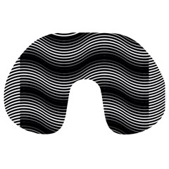 Two Layers Consisting Of Curves With Identical Inclination Patterns Travel Neck Pillows