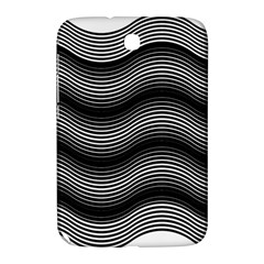 Two Layers Consisting Of Curves With Identical Inclination Patterns Samsung Galaxy Note 8.0 N5100 Hardshell Case