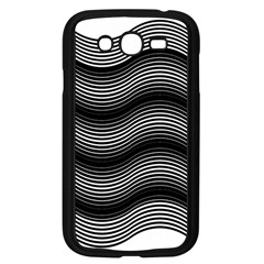 Two Layers Consisting Of Curves With Identical Inclination Patterns Samsung Galaxy Grand DUOS I9082 Case (Black)