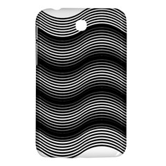 Two Layers Consisting Of Curves With Identical Inclination Patterns Samsung Galaxy Tab 3 (7 ) P3200 Hardshell Case