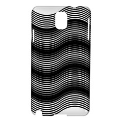 Two Layers Consisting Of Curves With Identical Inclination Patterns Samsung Galaxy Note 3 N9005 Hardshell Case