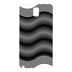 Two Layers Consisting Of Curves With Identical Inclination Patterns Samsung Galaxy Note 3 N9005 Hardshell Back Case