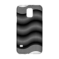 Two Layers Consisting Of Curves With Identical Inclination Patterns Samsung Galaxy S5 Hardshell Case