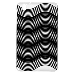 Two Layers Consisting Of Curves With Identical Inclination Patterns Samsung Galaxy Tab Pro 8.4 Hardshell Case
