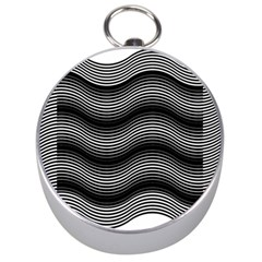 Two Layers Consisting Of Curves With Identical Inclination Patterns Silver Compasses
