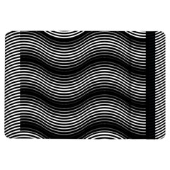 Two Layers Consisting Of Curves With Identical Inclination Patterns iPad Air Flip
