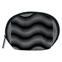 Two Layers Consisting Of Curves With Identical Inclination Patterns Accessory Pouches (Medium)