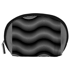 Two Layers Consisting Of Curves With Identical Inclination Patterns Accessory Pouches (Large)