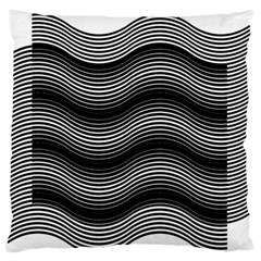 Two Layers Consisting Of Curves With Identical Inclination Patterns Standard Flano Cushion Case (One Side)