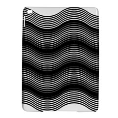 Two Layers Consisting Of Curves With Identical Inclination Patterns iPad Air 2 Hardshell Cases