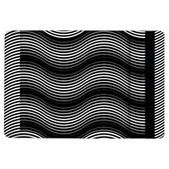 Two Layers Consisting Of Curves With Identical Inclination Patterns iPad Air 2 Flip