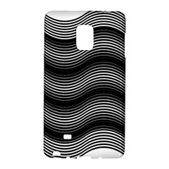 Two Layers Consisting Of Curves With Identical Inclination Patterns Galaxy Note Edge