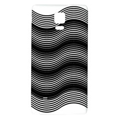 Two Layers Consisting Of Curves With Identical Inclination Patterns Galaxy Note 4 Back Case