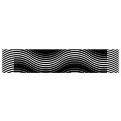 Two Layers Consisting Of Curves With Identical Inclination Patterns Flano Scarf (small)