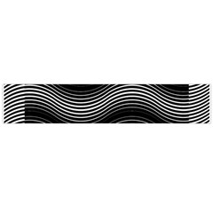 Two Layers Consisting Of Curves With Identical Inclination Patterns Flano Scarf (large)