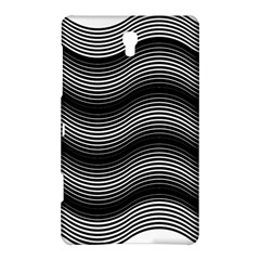 Two Layers Consisting Of Curves With Identical Inclination Patterns Samsung Galaxy Tab S (8.4 ) Hardshell Case