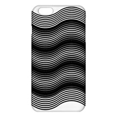 Two Layers Consisting Of Curves With Identical Inclination Patterns iPhone 6 Plus/6S Plus TPU Case