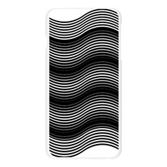 Two Layers Consisting Of Curves With Identical Inclination Patterns Apple Seamless iPhone 6 Plus/6S Plus Case (Transparent)