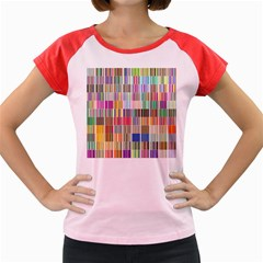 Overlays Graphicxtras Patterns Women s Cap Sleeve T-Shirt