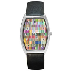 Overlays Graphicxtras Patterns Barrel Style Metal Watch