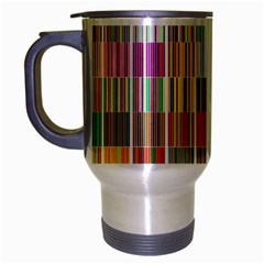 Overlays Graphicxtras Patterns Travel Mug (silver Gray)