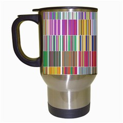 Overlays Graphicxtras Patterns Travel Mugs (White)