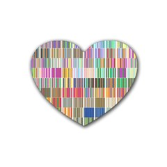 Overlays Graphicxtras Patterns Heart Coaster (4 Pack)