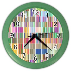 Overlays Graphicxtras Patterns Color Wall Clocks