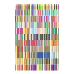 Overlays Graphicxtras Patterns Shower Curtain 48  X 72  (small)