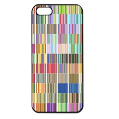Overlays Graphicxtras Patterns Apple iPhone 5 Seamless Case (Black)