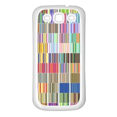 Overlays Graphicxtras Patterns Samsung Galaxy S3 Back Case (White)