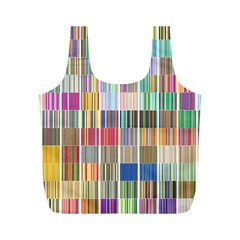 Overlays Graphicxtras Patterns Full Print Recycle Bags (M)