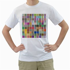 Overlays Graphicxtras Patterns Men s T-Shirt (White)