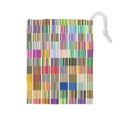 Overlays Graphicxtras Patterns Drawstring Pouches (Large)
