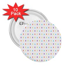 Sign Pattern 2 25  Buttons (10 Pack)