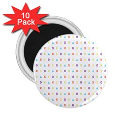 Sign Pattern 2 25  Magnets (10 Pack)