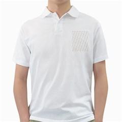 Sign Pattern Golf Shirts