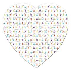 Sign Pattern Jigsaw Puzzle (Heart)