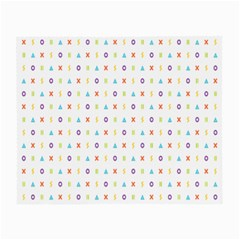 Sign Pattern Small Glasses Cloth (2 Side)