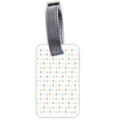 Sign Pattern Luggage Tags (Two Sides)