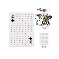 Sign Pattern Playing Cards 54 (Mini)