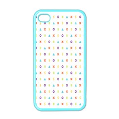 Sign Pattern Apple iPhone 4 Case (Color)