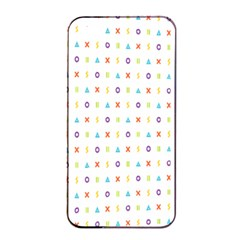 Sign Pattern Apple iPhone 4/4s Seamless Case (Black)