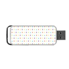 Sign Pattern Portable USB Flash (Two Sides)