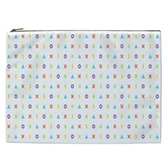 Sign Pattern Cosmetic Bag (XXL)