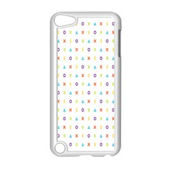 Sign Pattern Apple iPod Touch 5 Case (White)