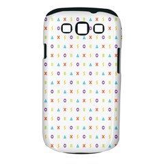 Sign Pattern Samsung Galaxy S Iii Classic Hardshell Case (pc+silicone)